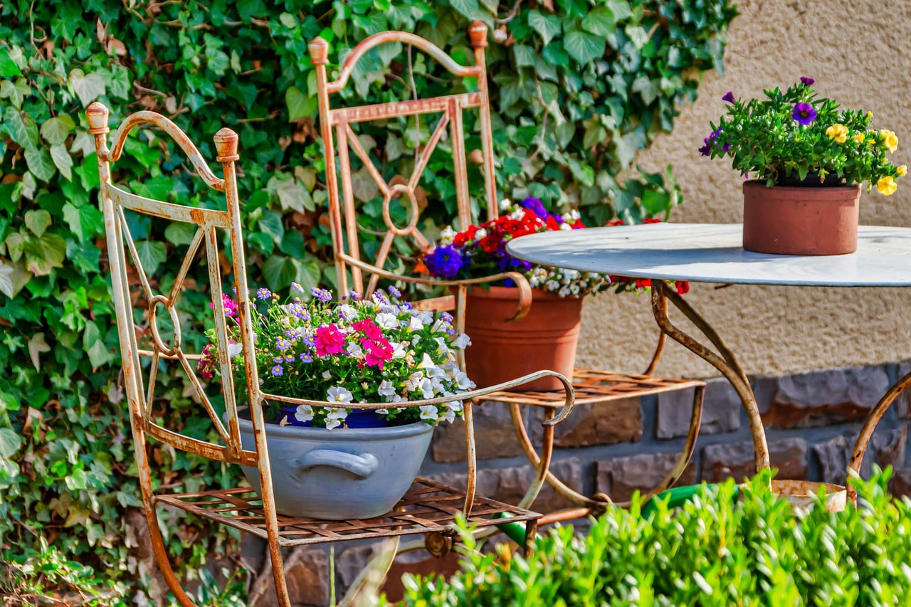Salon de jardin pas cher