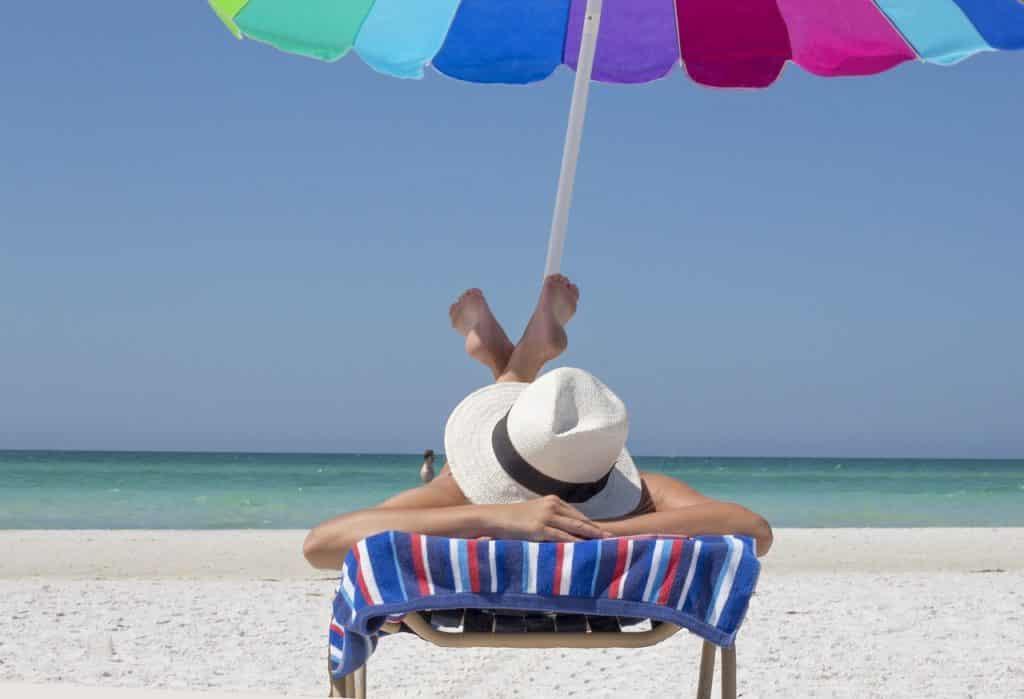 votre parasol contre les UV