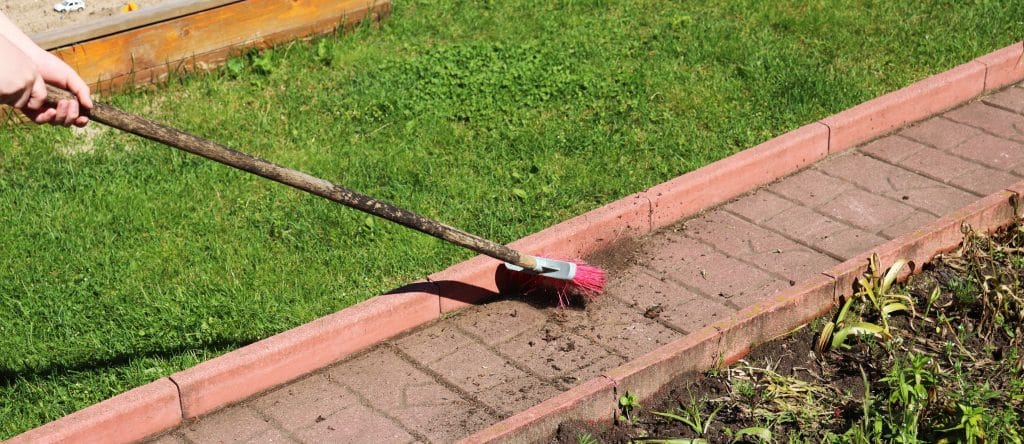 allée de jardin pas cher gravillon