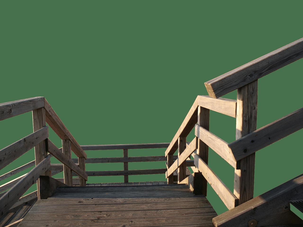 construire un escalier en bois