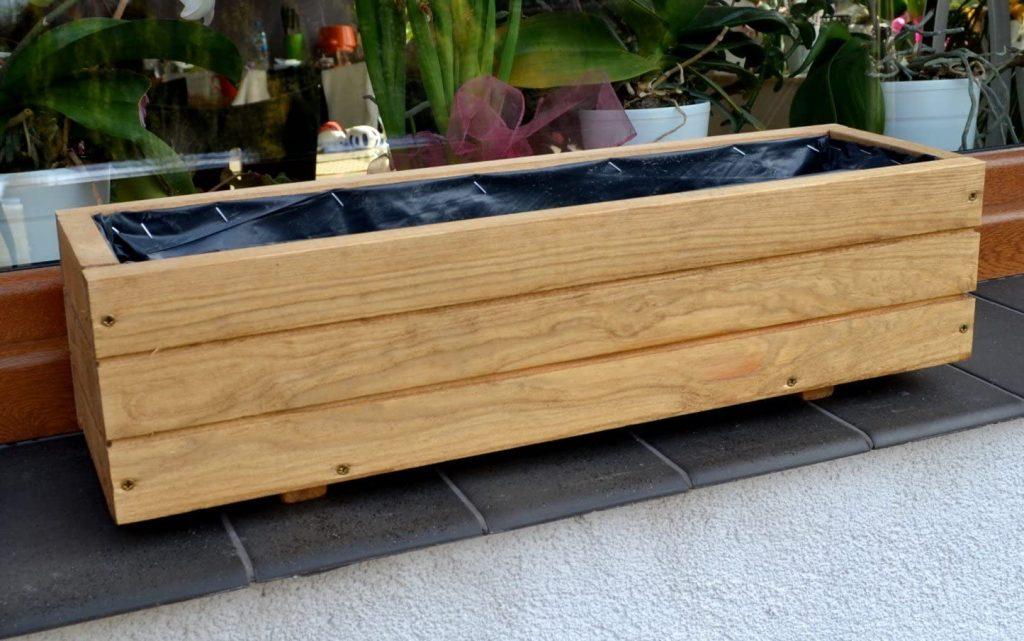 fabriquer une jardinière en bois intérêt
