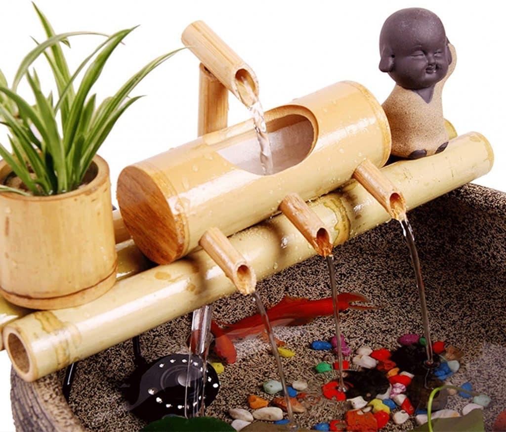 mini-jardin japonais création de l'étang