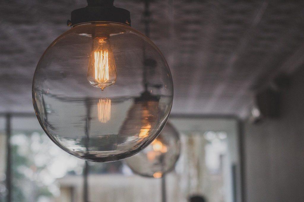 luminaire de cuisine en suspension