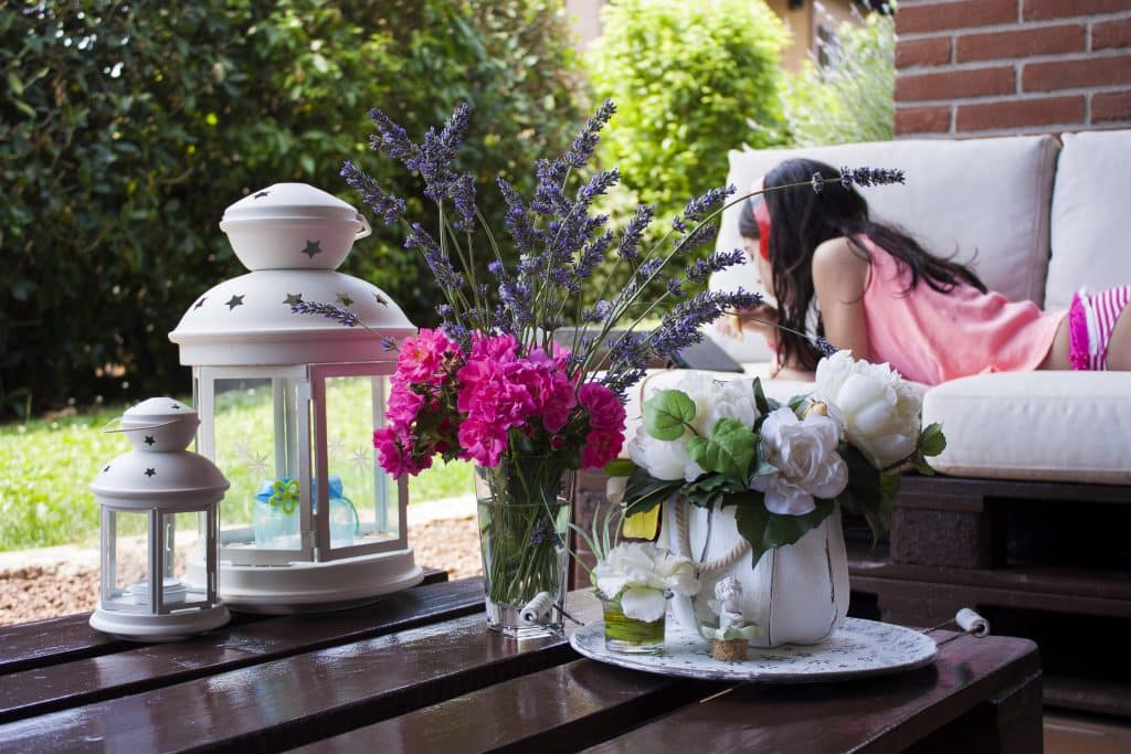 comment créer salon de jardin en palettes moderne