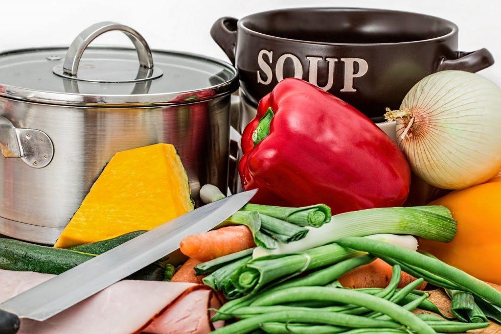 matériels de cuisine