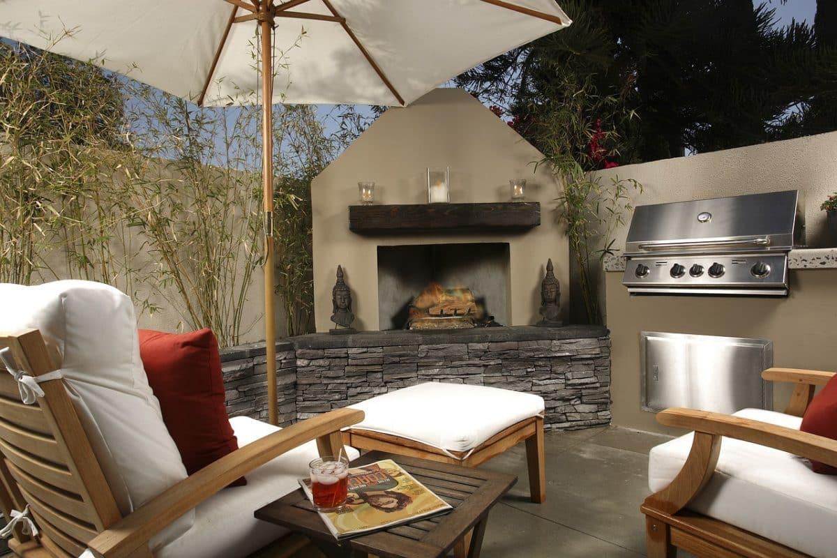 créer une cuisine à l'extérieur