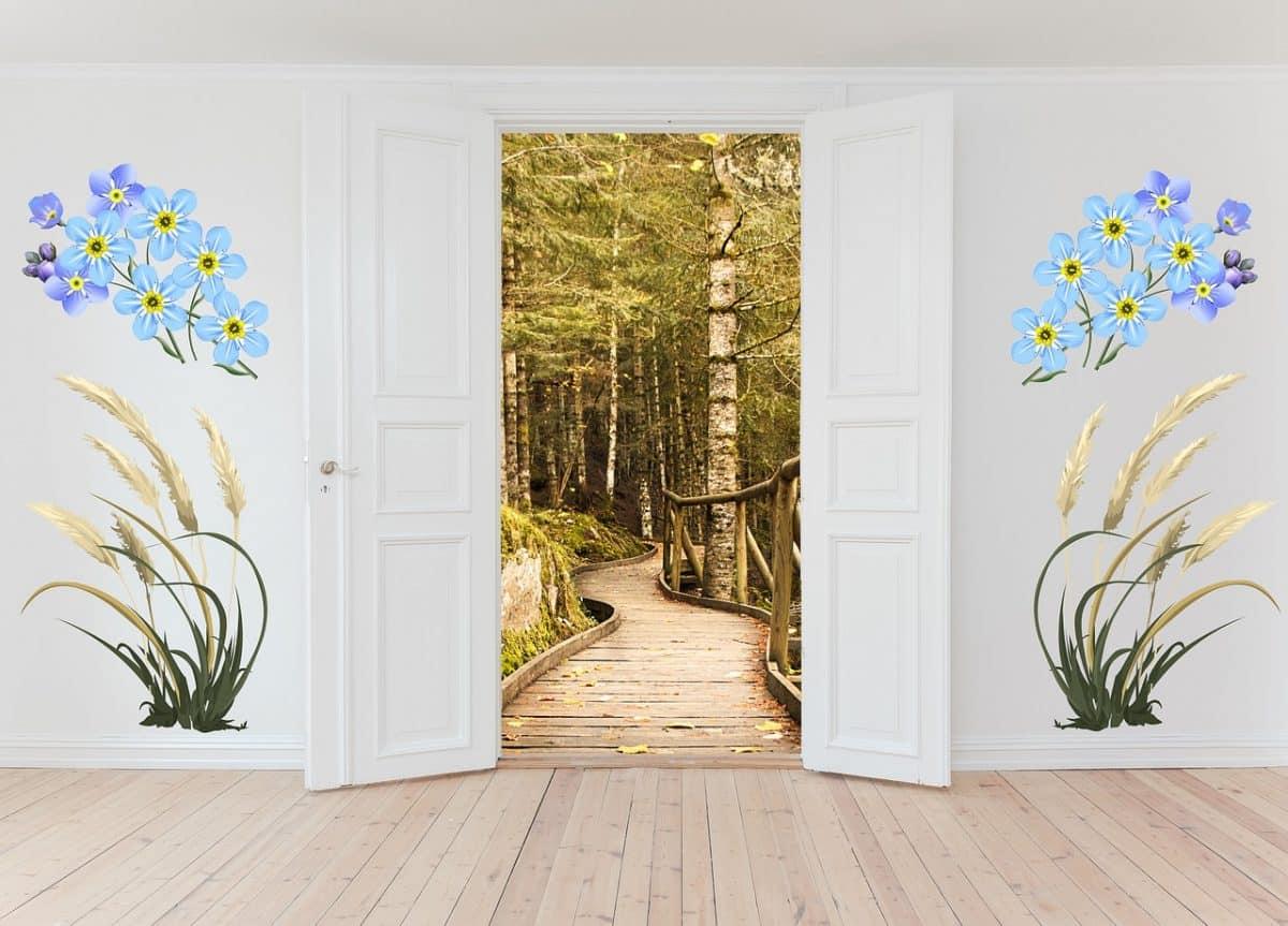 décorer les portes
