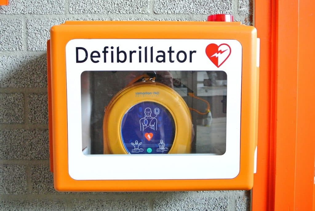 acquisition d'un défibrillateur