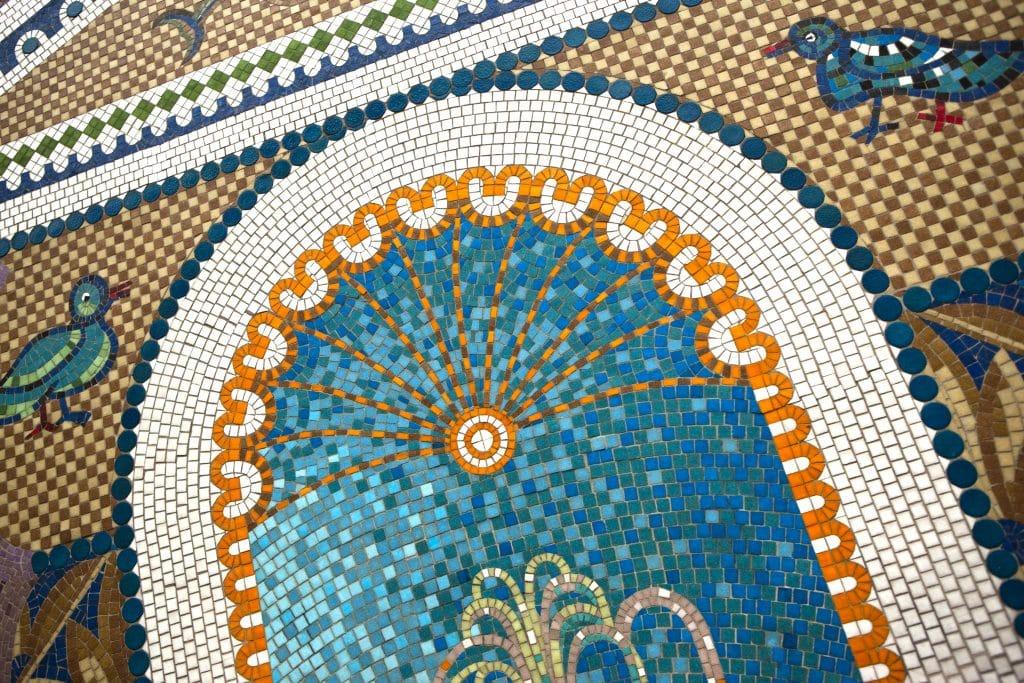 table de jardin en mosaïque choix