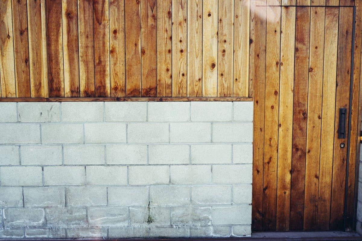 idées pour habiller mur en parpaing extérieur