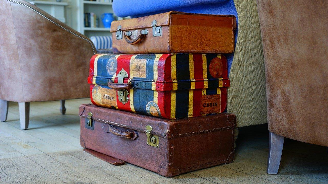 ranger ses valises à la maison