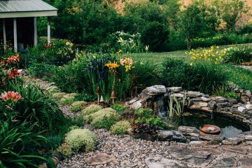 bassin de jardin un gros plus pour votre extérieur