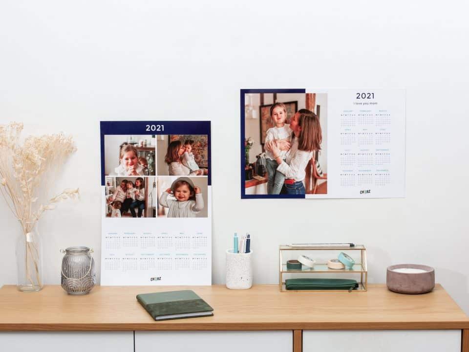 faire un calendrier photo personnalisé